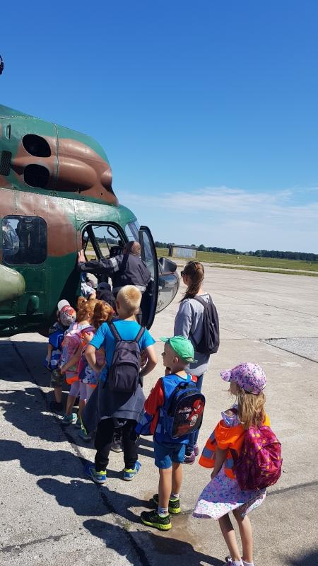Wycieczka do 49 Bazy Lotniczej w Pruszczu Gdańskim :)