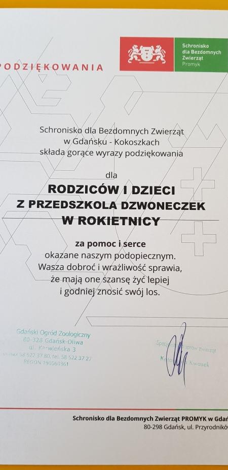 Zbiórka karmy dla psów ze schroniska Promyk w Gdańsku :)