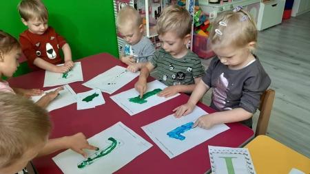 Zajęcia Motylków-naszych najmłodszych Przedszkolaków
