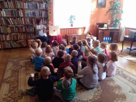 Kolejne zajęcia w bibliotece